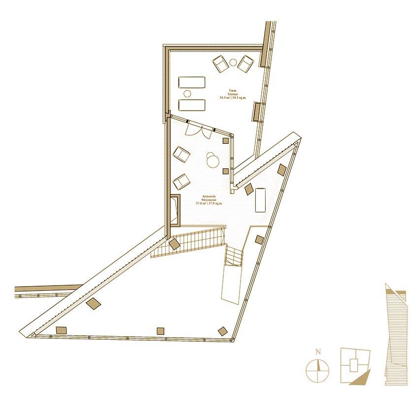 Plan Penthouse