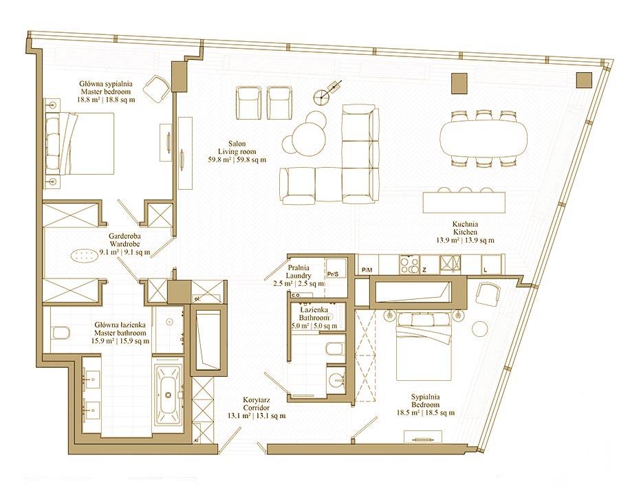 Apartament Etno Style