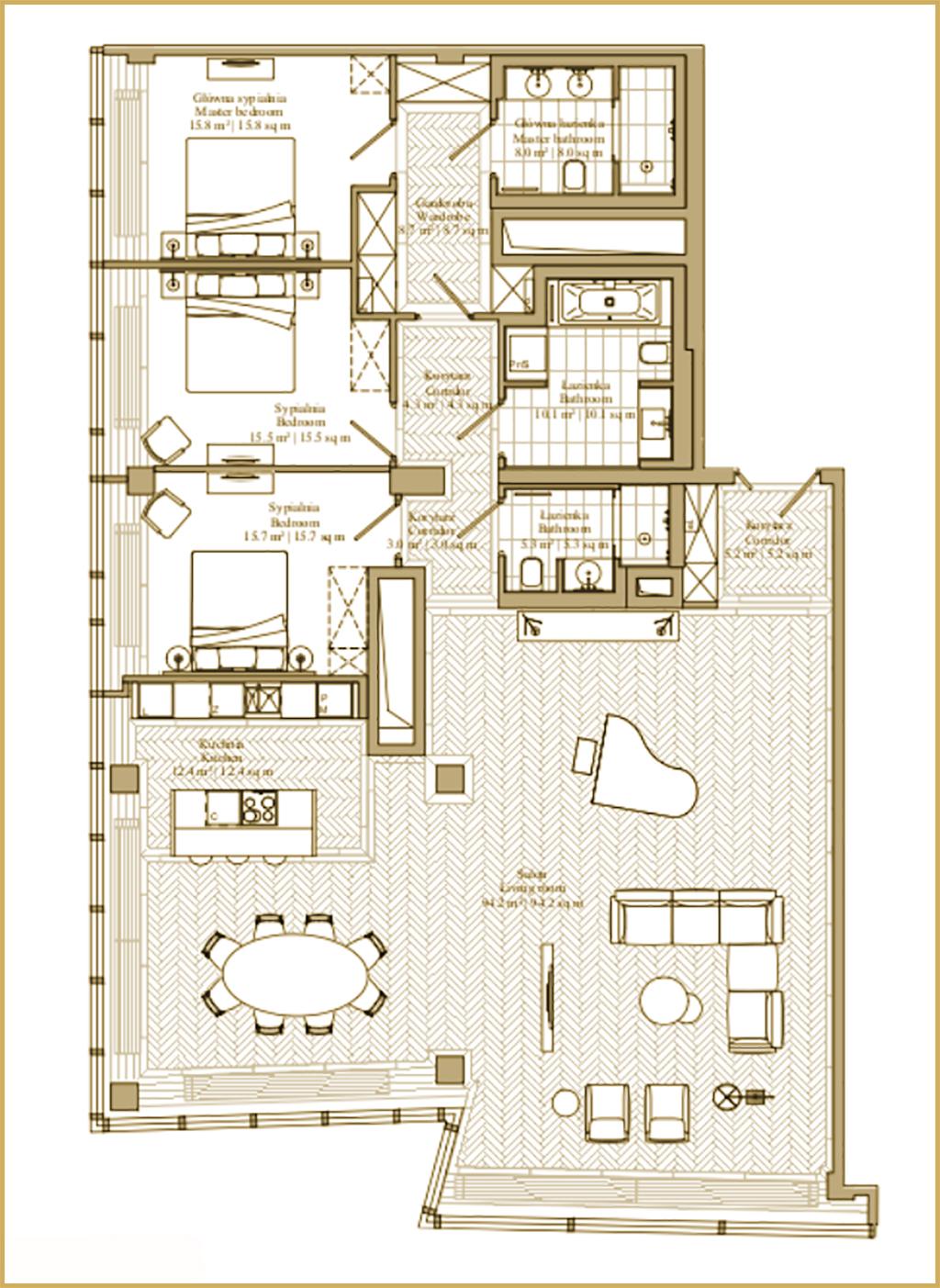 Apartament Kooku - The Signature Apartment